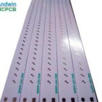Led tube aluminum pcb